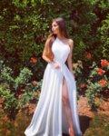 Мегз рокля с цепка и едно рамо